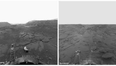 The surface of Venus, as seen from the Venera 13 lander