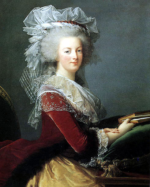 Marie Antoinette, famous for turning a volcanic famine into a piece of cake