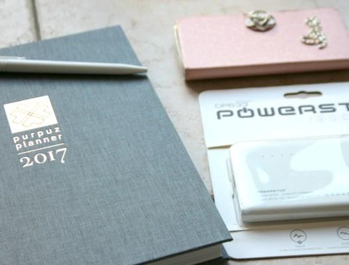 purpuz blogger powerbank