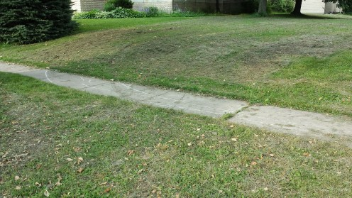 """City Of Buffalo"" Destroyed The Lawn Of Our Church"