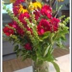 Basil Flower Arrangement