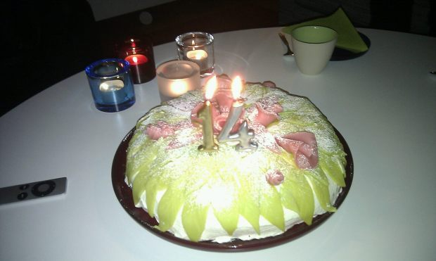 Toves fina tårta