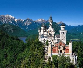 Castillo de Neuschwanstein, Baviera, Alemania