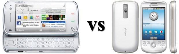 Nokia n97 vs HTC Magic