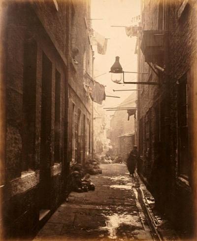 Primer documento fotográfico que muestra la pobreza humana