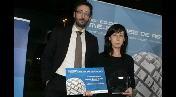 Premio mejor web asturiana 2011