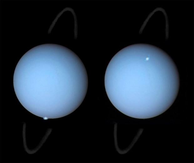 Auroras en Urano