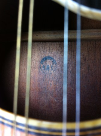 Stamp Inside the Mandolin