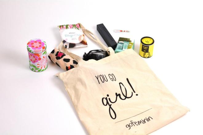 Blogger Club gofeminin Goodie Bag