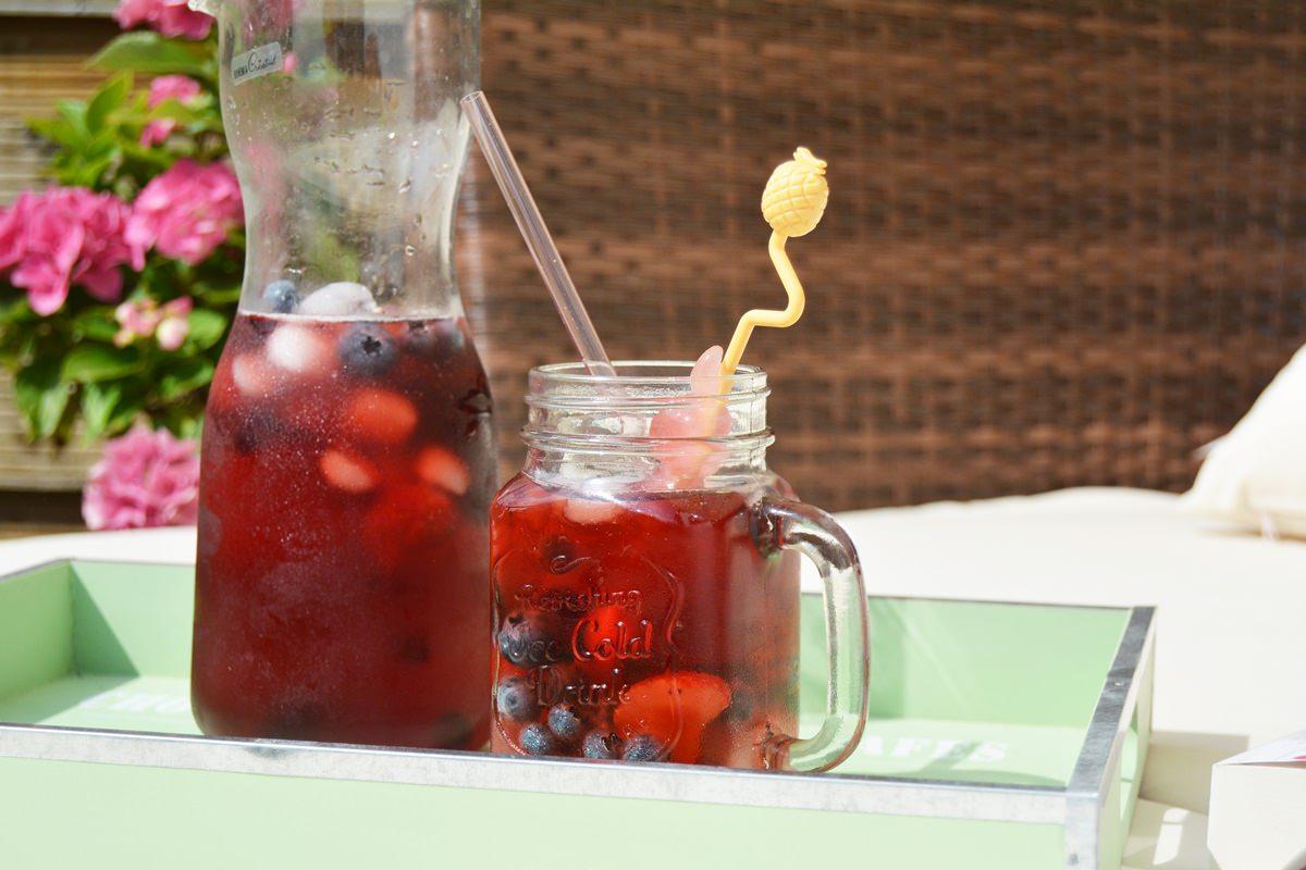 Erfrischung gefällig? - fruchtige Abkühlung mit leckeren Beeren