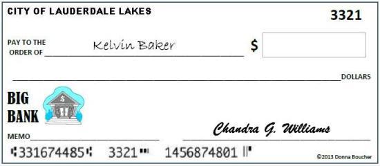 Lauderdale Lakes Blank Check
