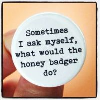 Sometimes I ask myself