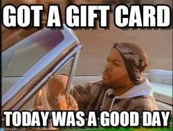 Got a gift card