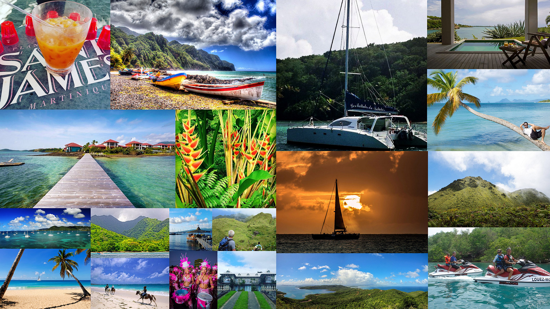 voyage groupe Martinique