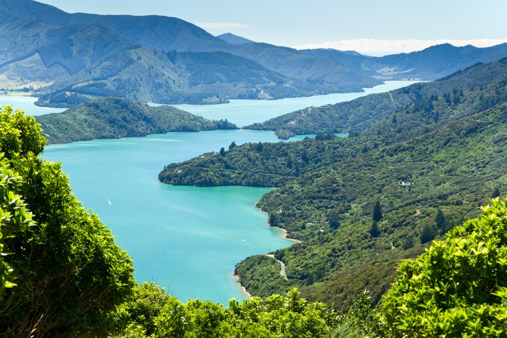 Marlborough Sounds - Onahau Lookout - 2