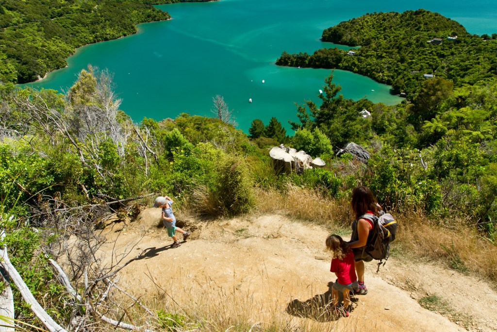 Marlborough Sounds - Onahau Lookout - 3