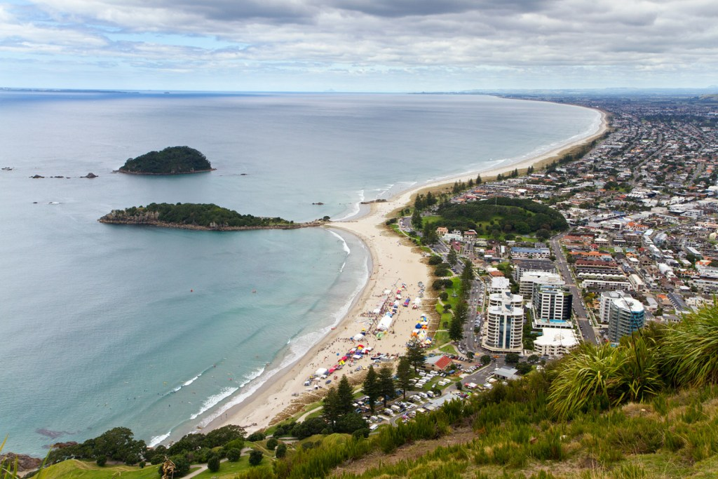 Mont Manganui - Summit walk - 2