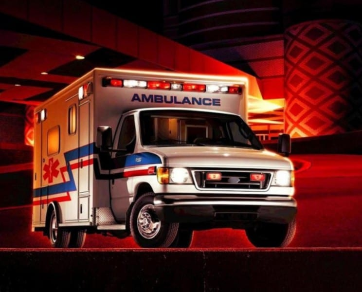 Nunca cedas el paso a una ambulancia