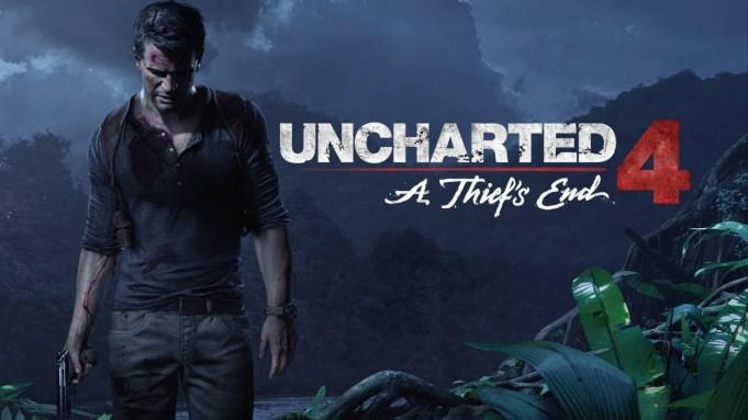 Uncharted 4 beta splash