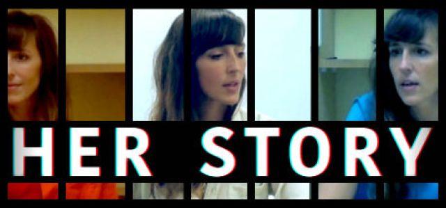 her story header