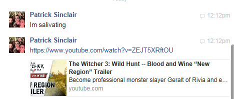 The Witcher 3 - Blood and Wine Causing Salivation