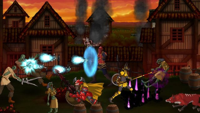 Dungeon Punks Zombies