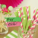 DIY Cocktail Party Accessories