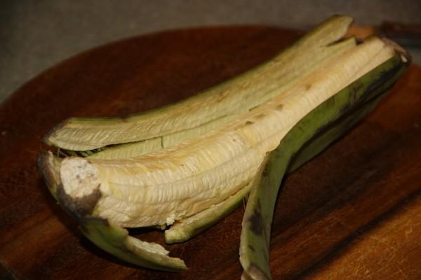 Жареные зеленые бананы рецепт