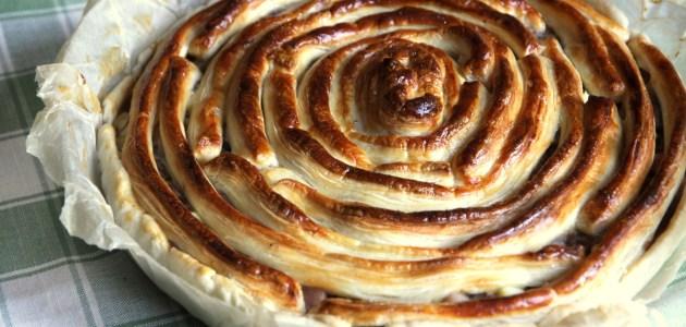 Испанский мясной пирог из Мурсии
