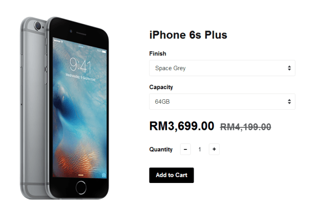 iPhone 6s Plus Promotion