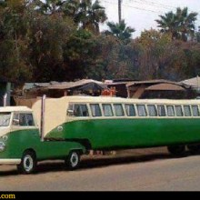 Outrageous VW Camper Limo