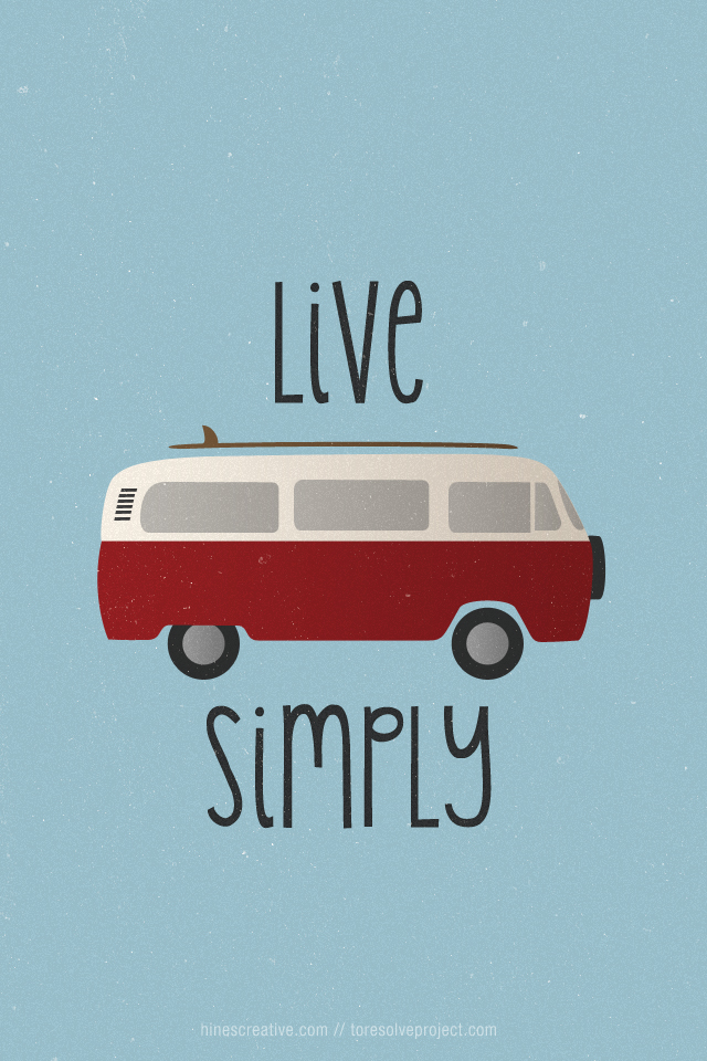 VW Camper Life: Live Simply
