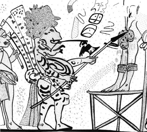 Mayan human sacrifice