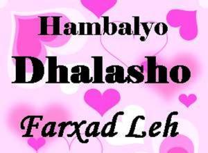 hambalyo-dhalasho