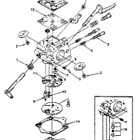 Walbro HDC Carburetor Diagram Parts List