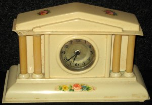 clock (flowers)
