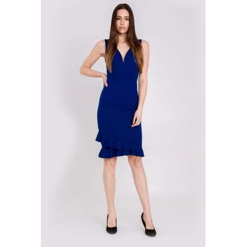 Medium Crop Of Deep V Dress