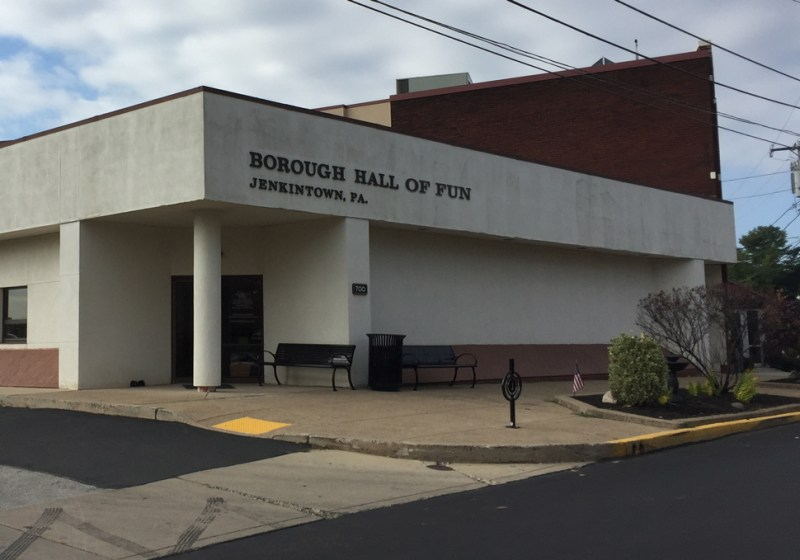 Jenkintown's 12-member Council works for nothing. What's that cost us?