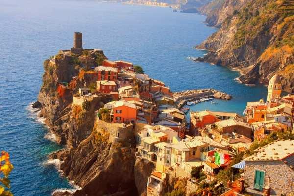 Photo op of Cinque Terre