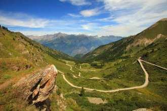 A trail in the Italian Alps