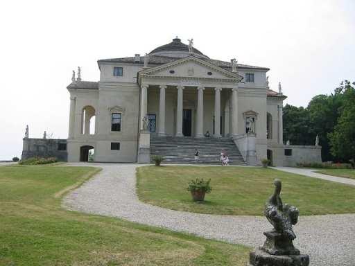 UNESCO World Heritage Sites in Northern Italy - Palladian Villas - La Rotonda