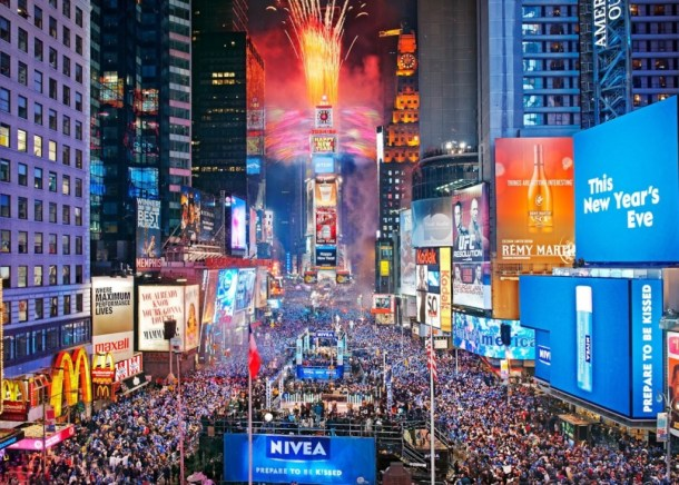 Times Square New Years E