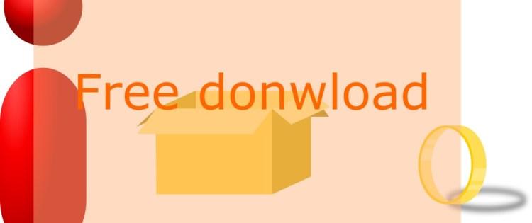 Free Vector 3D Box Download