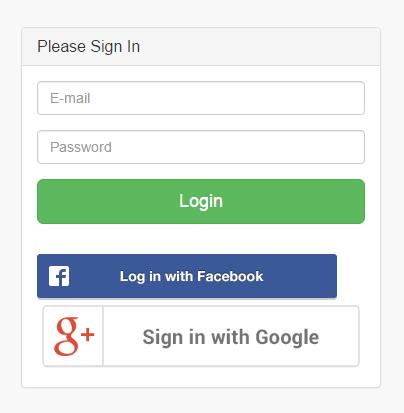social login