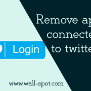 Remove apps connected to twitter