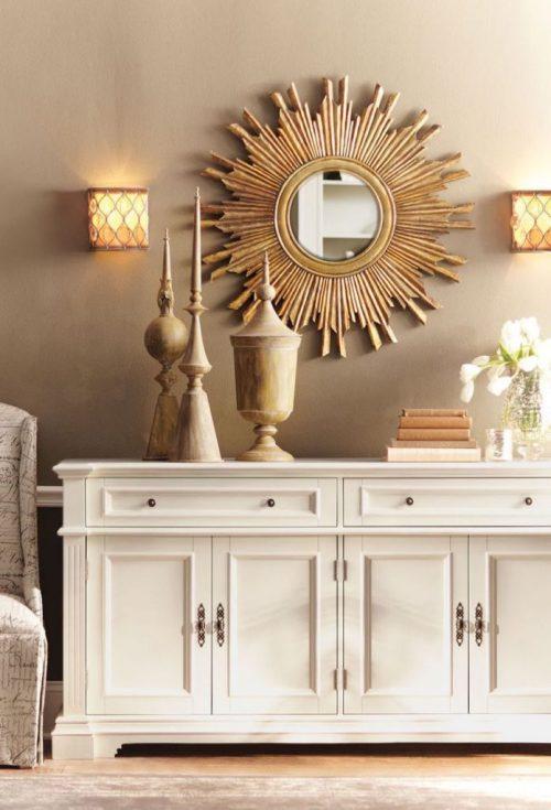 Medium Of Living Room Mirror Ideas