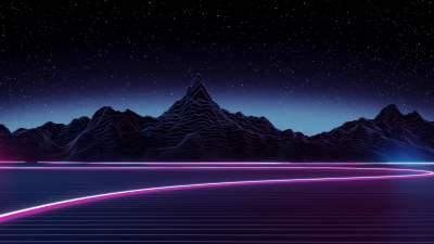 Black mountain during nighttime HD wallpaper | Wallpaper Flare