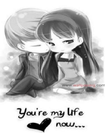 Download U r my life - Romantic wallpapers for your mobile cell phone