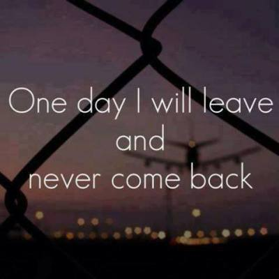 Download Never come back - Heart touching love quote for your mobile cell phone