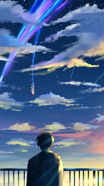 Download 1080x1920 Kimi No Na Wa, Taki Tachibana, Scenic, Your Name Wallpapers for iPhone 8 ...